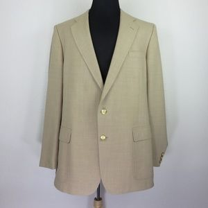 Other - Union Made in USA Tan Sport Coat Blazer